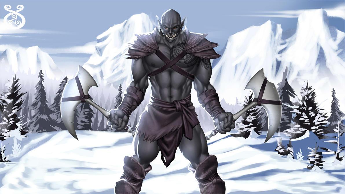 Black Troll by alanscampos
