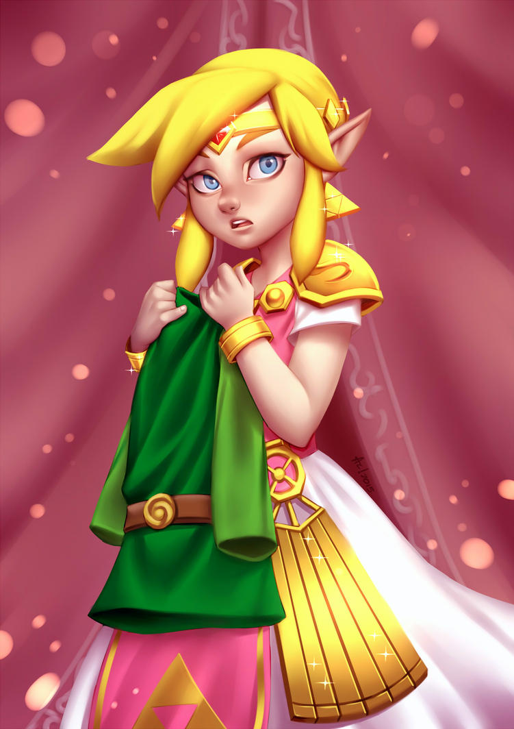 Link Tri force Heroes (Pack02) by alanscampos