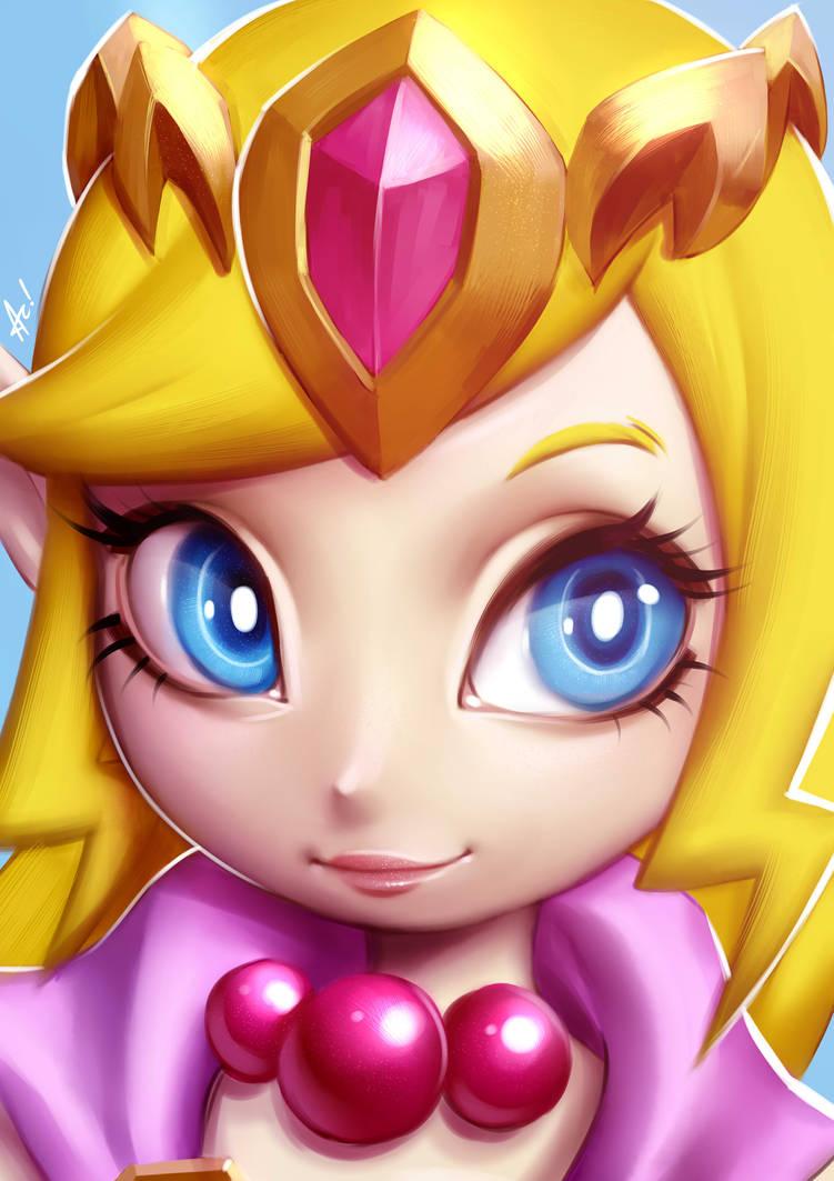 Zelda Wind Waker by alanscampos