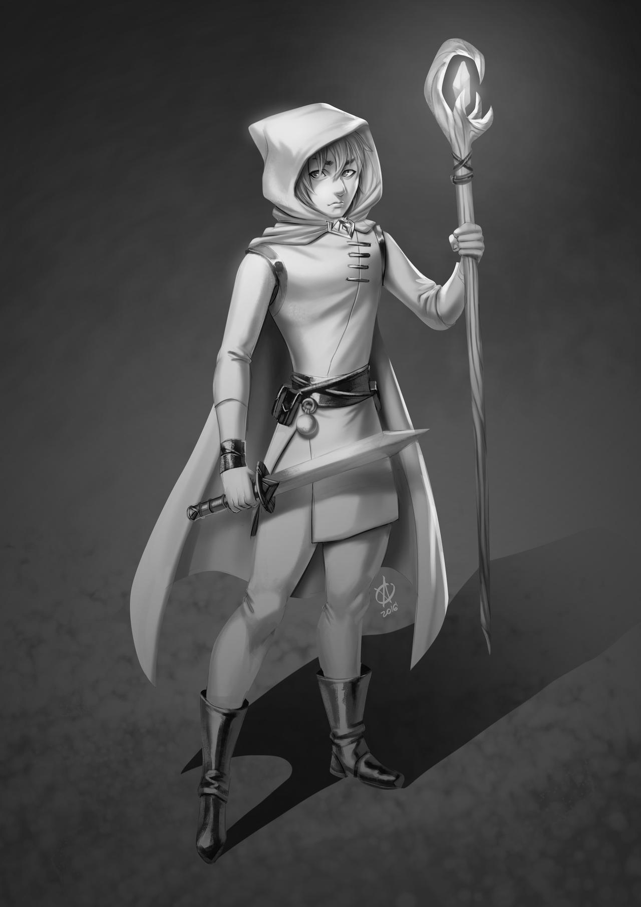 Mage by alanscampos
