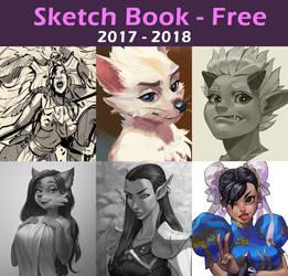 Sketch Book 2017 - 2018 by alanscampos