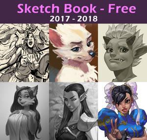 Sketch Book 2017 - 2018