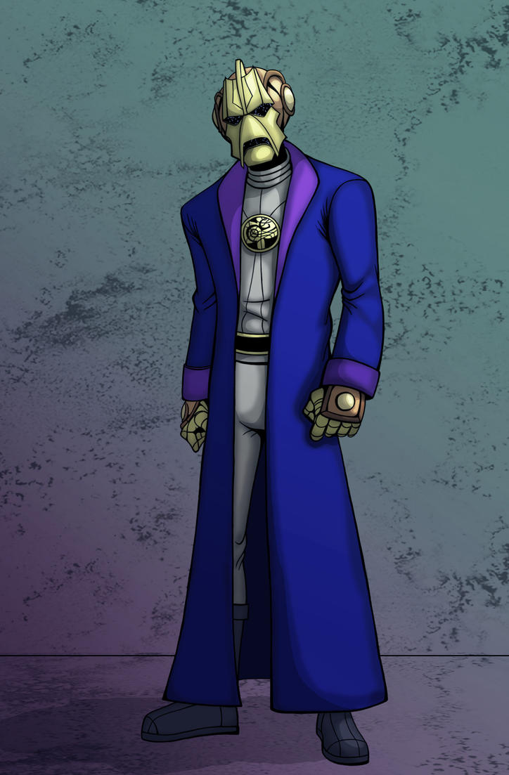 Doctor Who:  Omega Redesigned by IMForeman
