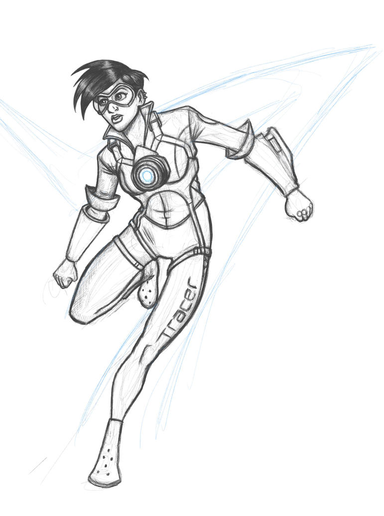 Tracer from Overwatch by IMForeman