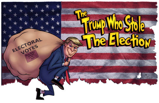 The Trump Who Stole The Election