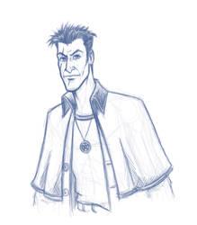 Harry Dresden Sketch