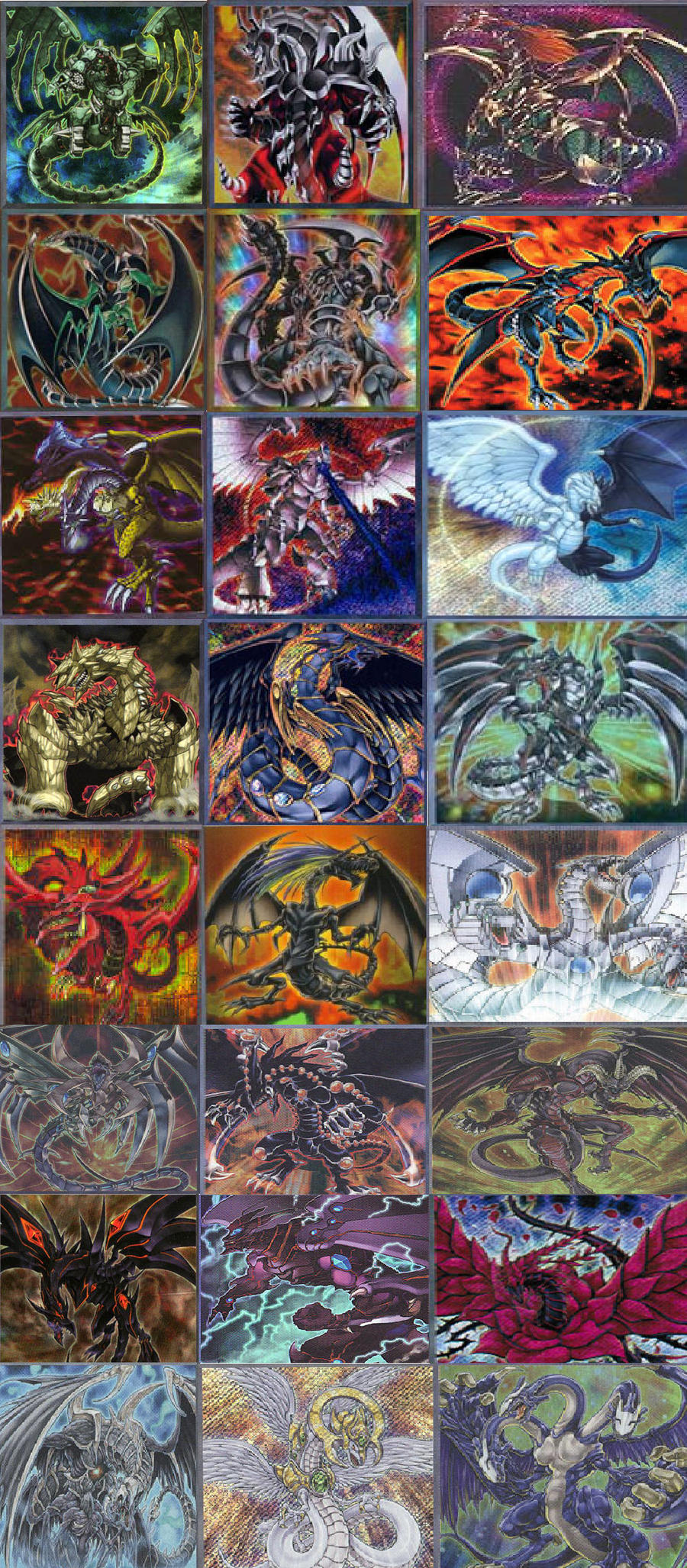 Favorite Dragon Cards by