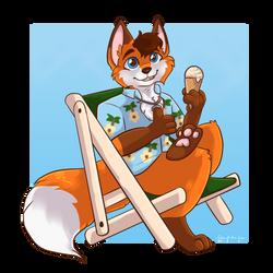 [AF] Ice Cream Fox