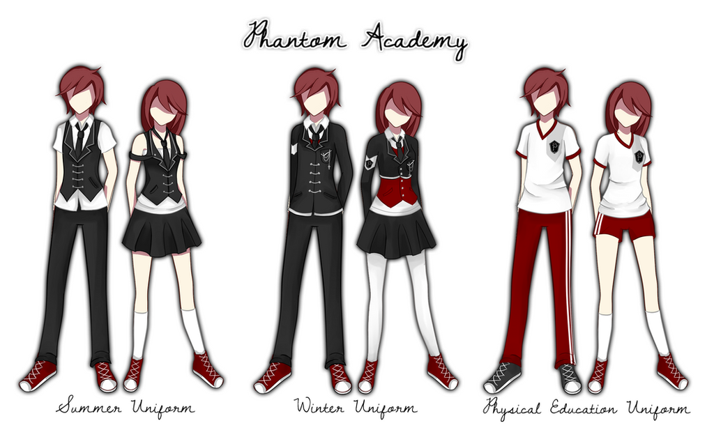 Phantom Academy Uniform in Phantom-Academy , by cookiestruck