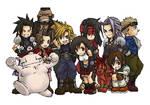 Final Fantasy VII Chibis