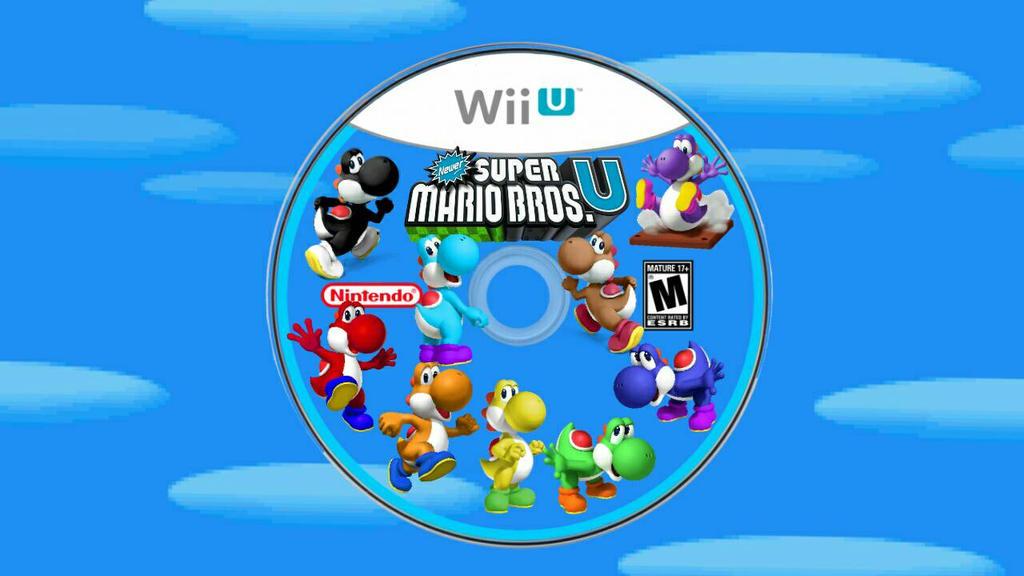 Newer Super Mario Bros U Yoshi Disc By Tghi1 10 On Deviantart
