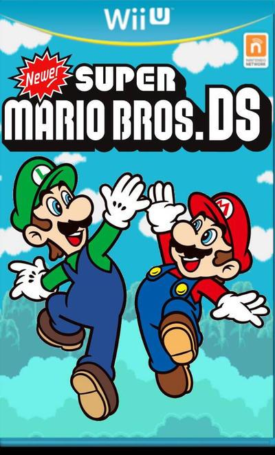 Newer Super Mario Bros Ds But On Wii U By Tghi1 10 On Deviantart