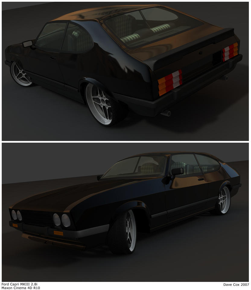 Ford Capri MkIII 2.8i by