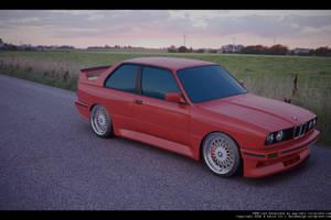 BMW e30 M3 Test Render 2 by DaveCox