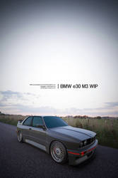 BMW e30 M3 Test Render 3