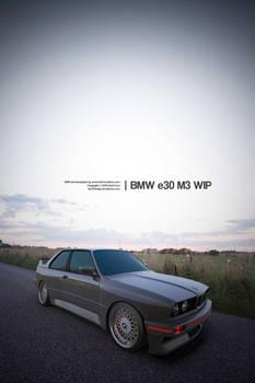BMW e30 M3 Test Render 3