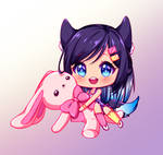 [217] [+Video] Chibi commission for DindaNda by Luceve13