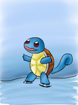 Squirtle on ice