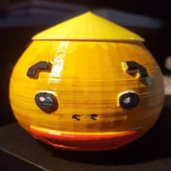 Zelda - Goron head jar V1 by Sen-Hime