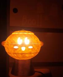 Pumpkin Kirby Lamp 3D printed