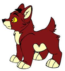 Arashi pup
