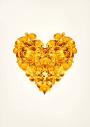 Golden Heart by bondangail