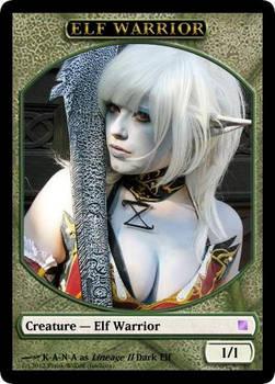 Elf Warrior Token with K-A-N-A