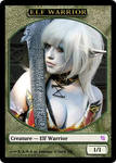 Elf Warrior Token with K-A-N-A