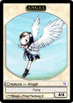 Angel Token with FF8 Rinoa fanart by pyromaniac
