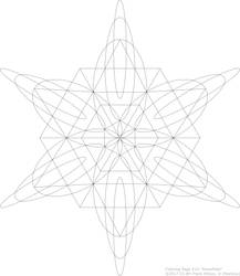 Coloring Page #14 'Snowflake'