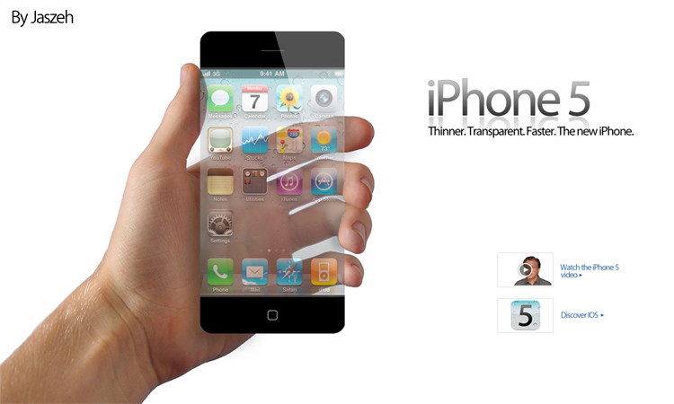 iPhone 5 by Jaszeh