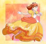Super Smash Bros Ultimate - Princess Daisy Running