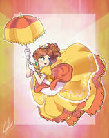 Super Smash Bros Ultimate - Princess Daisy by FrossArtist212