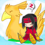 Vincent and Chocobo
