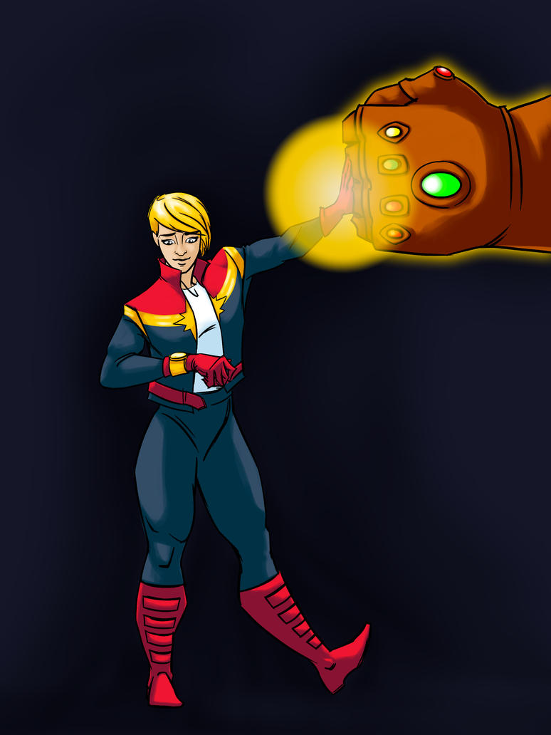 CaptainMarvel by Neale