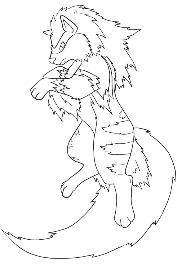arcanine coloring pages - photo#8