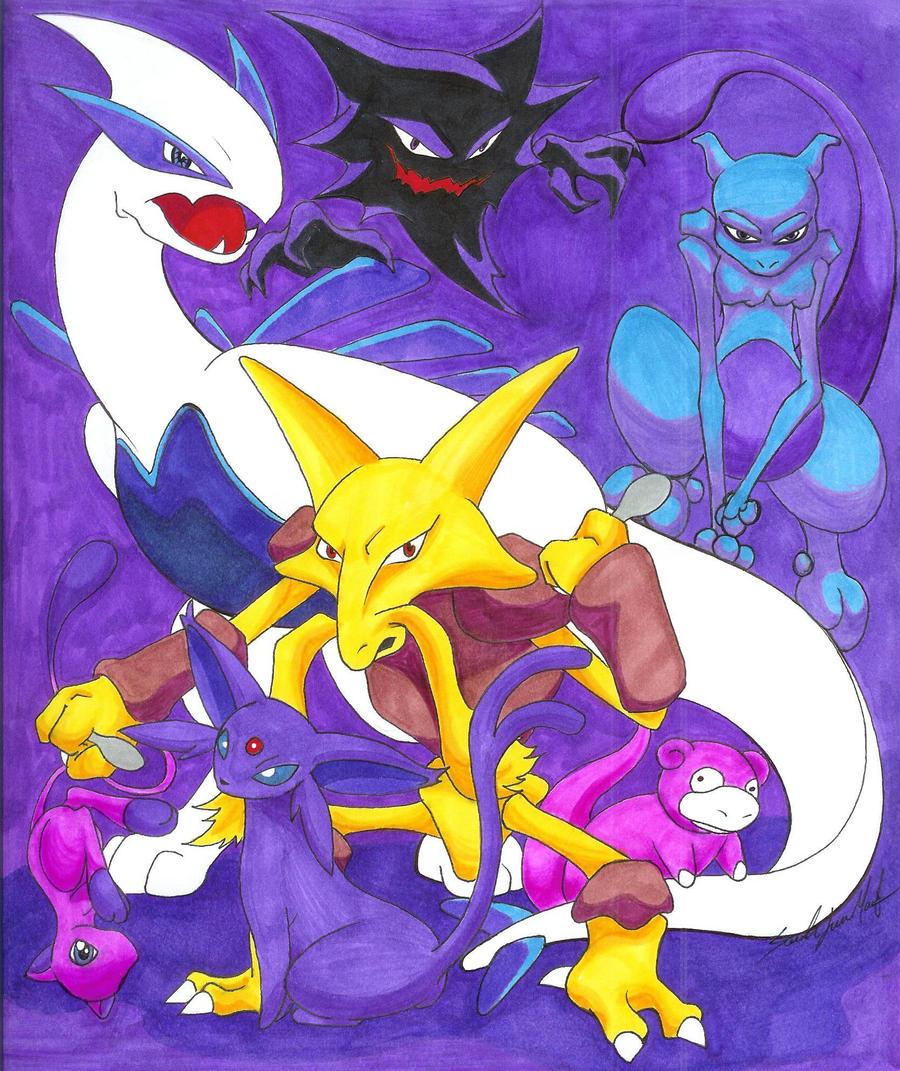 Pokemon Psychic Pokemon Images | Pokemon Images