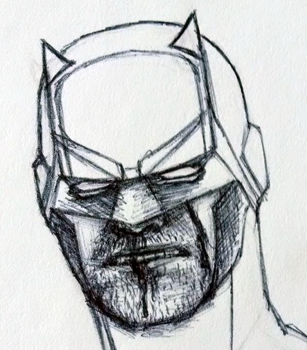 Daredevil Sketch by DevanAmesArt