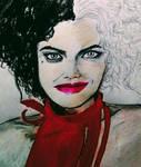 Emma Stone as Cruela by njgp