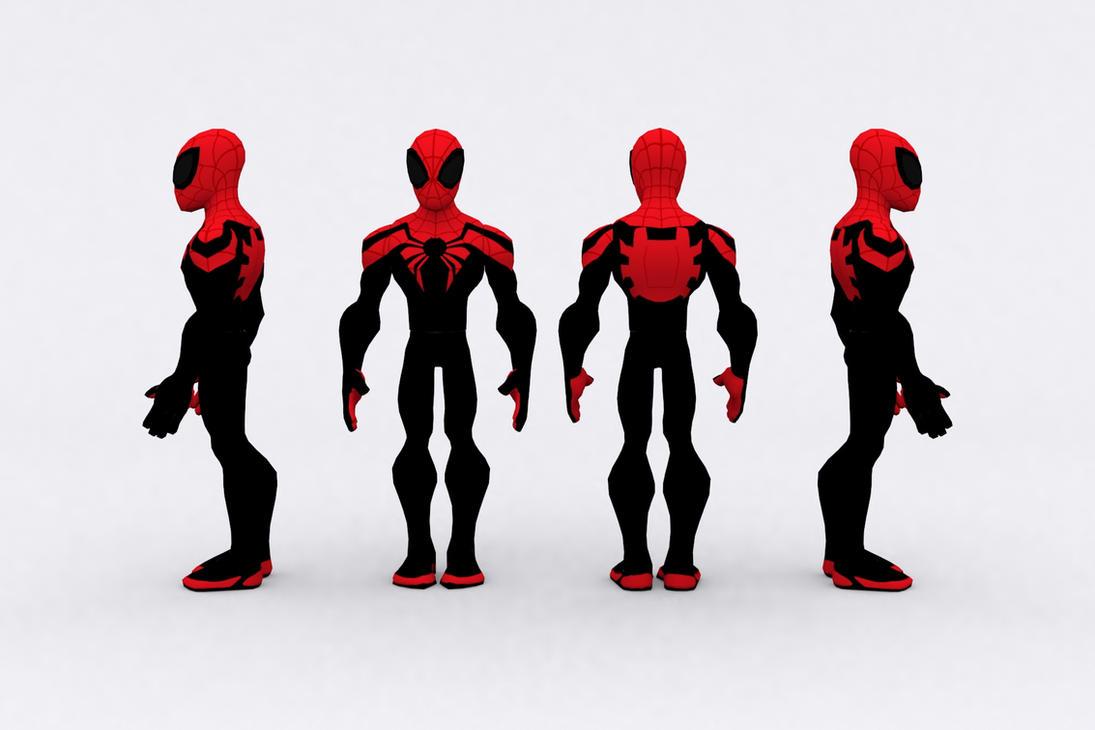 Disney Infinity Superior Spiderman By Jesus Draco On