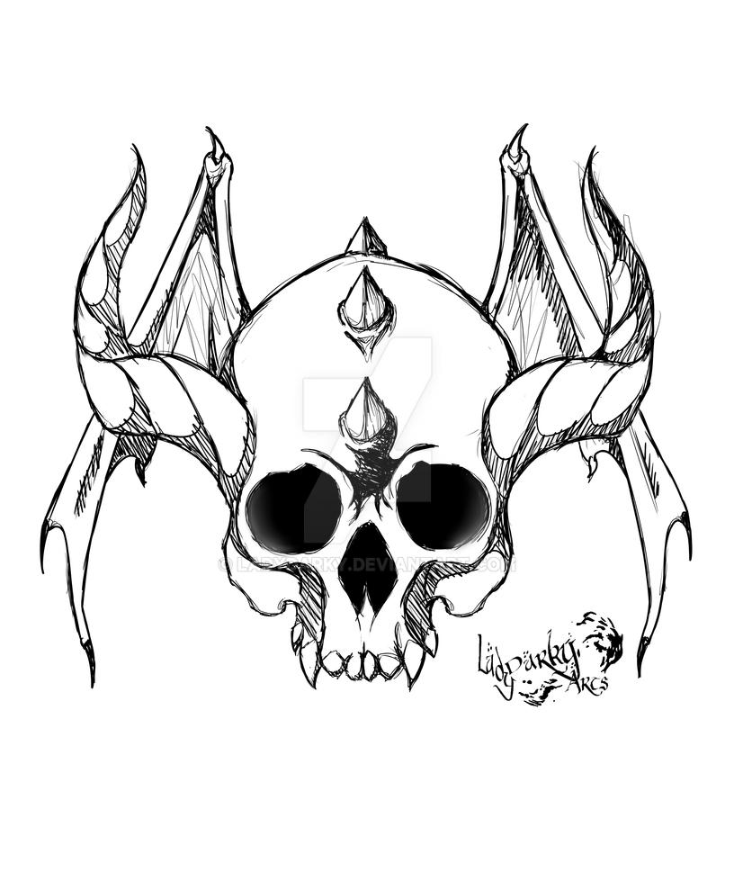 skull test topsimages Blank Sugar Skull Template test devil skull ladydarky on deviantart 816x979 skull test