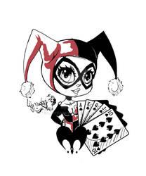 chibis Harley Quinn