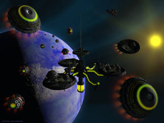 Terra Orbital Spacestation