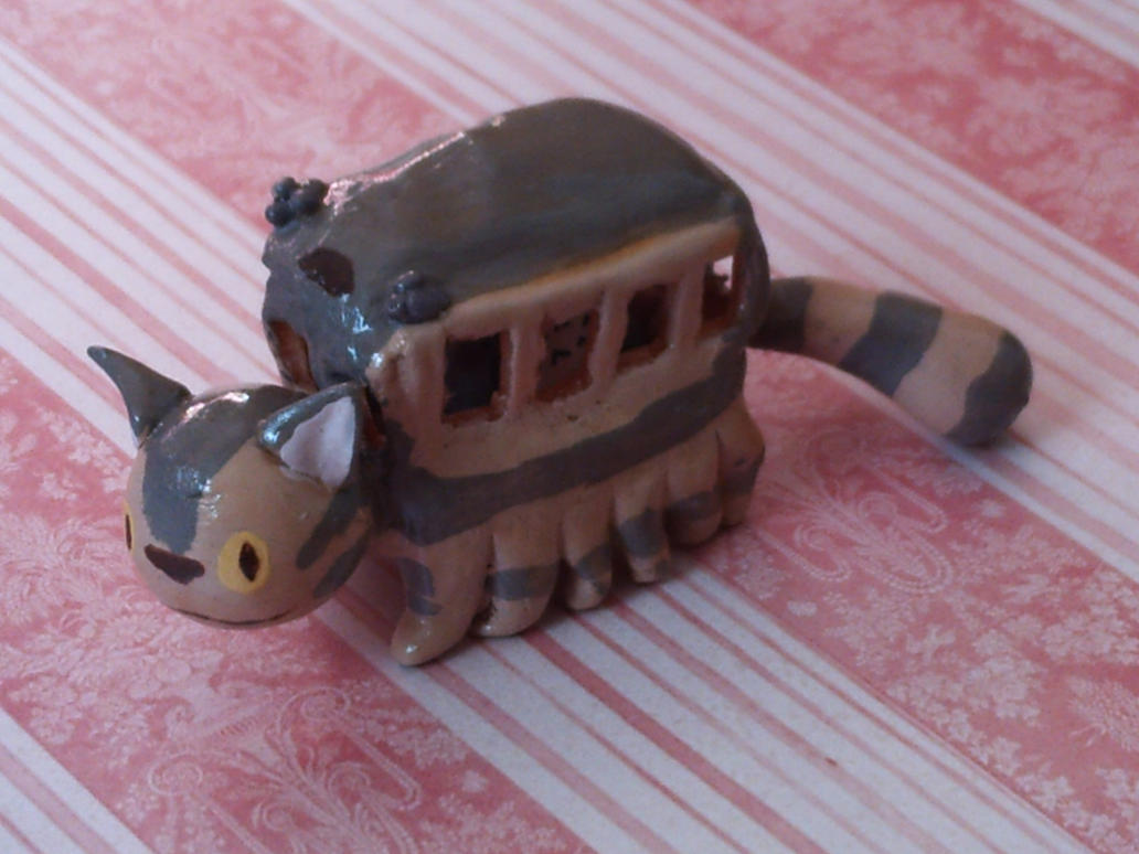Totoro Cat Bus by kitsuneofthewoods