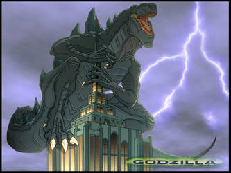 Godzilla 1998 Wallpaper by RaptorRexIII