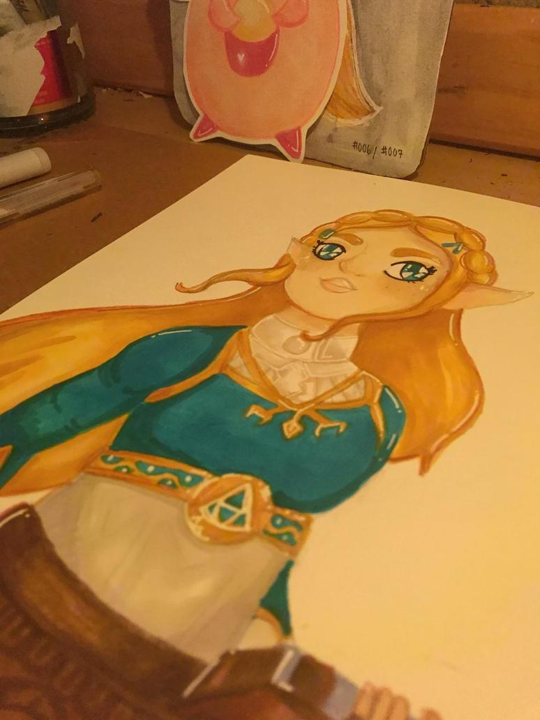 Zelda Fan Art! BOTW by lolleepoptarts