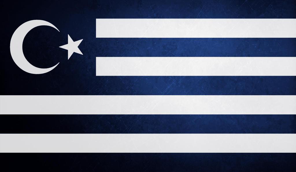 Flag of muslim greeks by saracennegative on deviantart