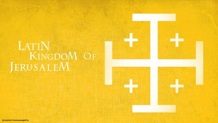 Kingdom Of Jerusalem Coat Of Arms by saracennegative