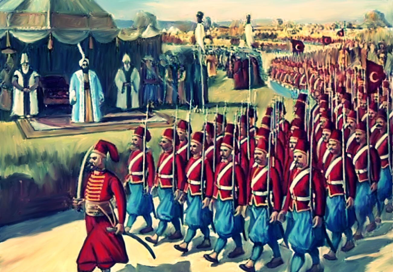Nizami Cedit New Ottoman Army 1800 By Saracennegative On