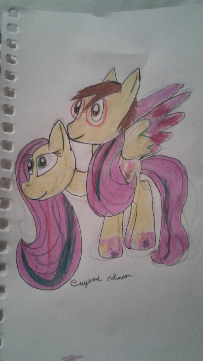 Fluttershy Rainbow Power Disguise (Birthday Gift) by Crystalshine3232